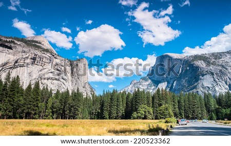 Yosemite National Park Valley, California USA