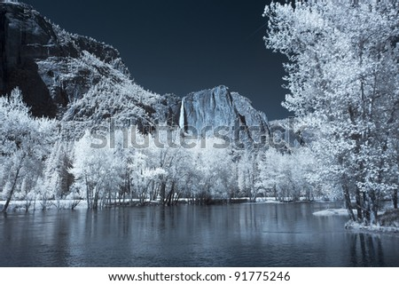 Yosemite Valley in Infrared