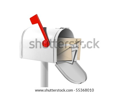 You got mail - stock photo