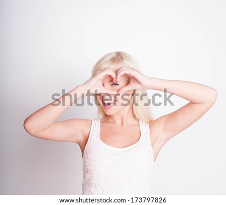 You're in my heart - stock photo