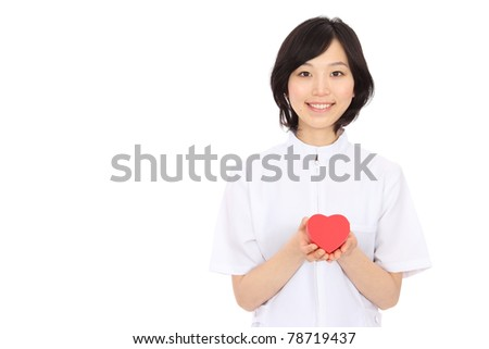 Young Asian Nurses - stock photo