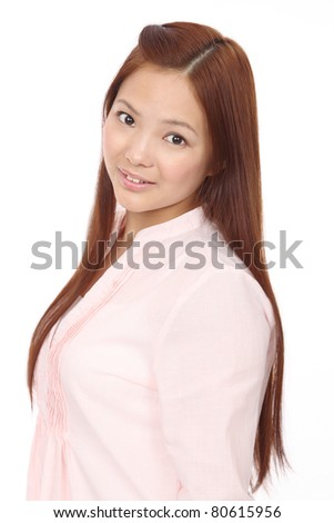 Young Asian Teen - stock photo