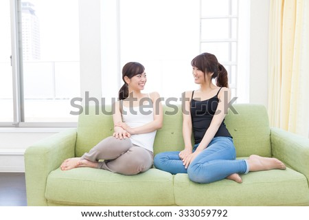 young asian women lifestyle image - stock photo