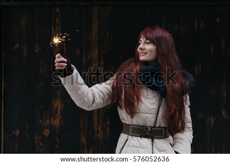 Young Mixed Race Caucasian Woman Portrait Stock Photo