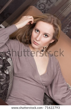 Young attractive girl - stock photo