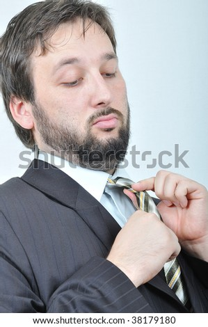 Young attractive man isolated - stock photo