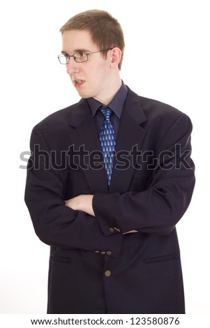 Young businessman - stock photo