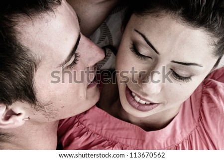 Young couple - stock photo