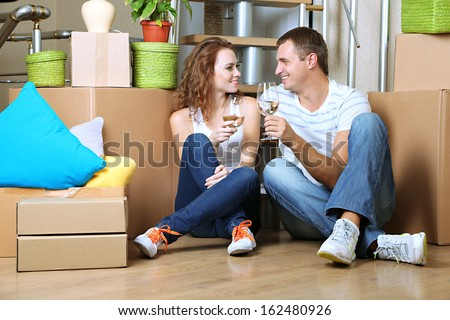 Newly married stock photos royalty free images vectors shutterstock - Young couple modern homes ...