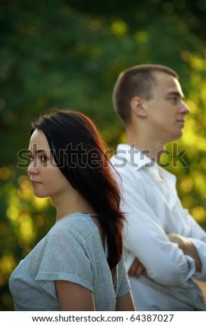 Husband wife garden embracing smiling each stock photo 570197863 shutterstock