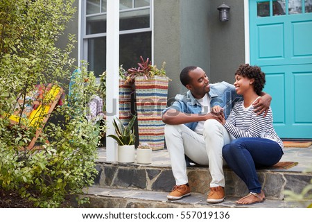 House stock images royalty free images vectors shutterstock - Young couple modern homes ...