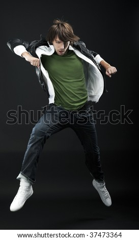 young dancer - stock photo