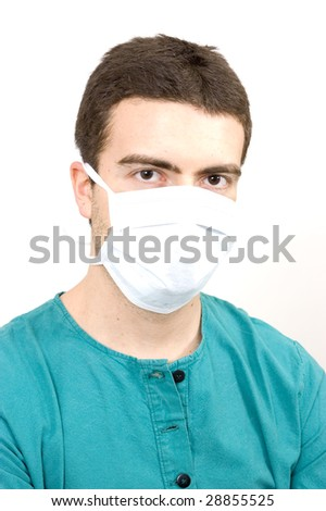 young doctor - stock photo