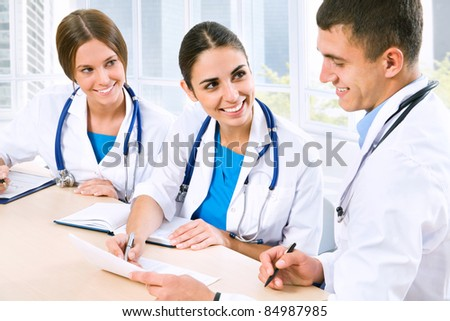 Young doctors in the workplace