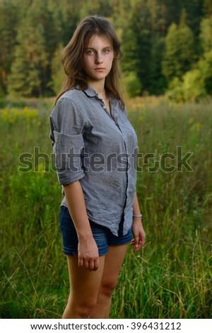 Eastern european teen girl