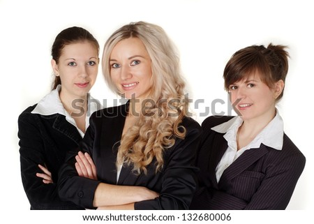 Young entrepreneurs to discuss current issues and ways out of the situation - stock photo