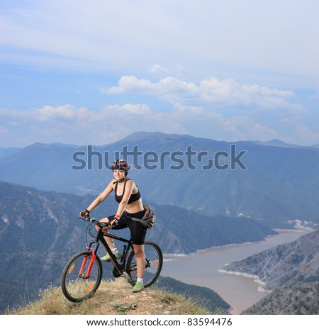 ... of woman from the mountains Stock Photos, Illustrations, and