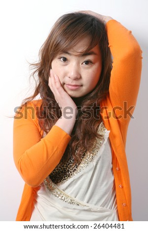 young girl - stock photo
