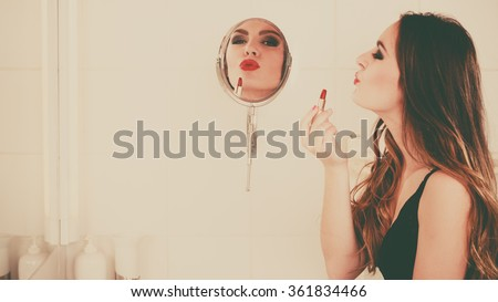 Kiss Mirror Stock Images Royalty Free Images Vectors Shutterstock