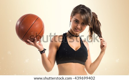 photo of girls playing basketball № 17612