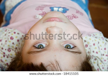 Young Girl with Hazel eyes