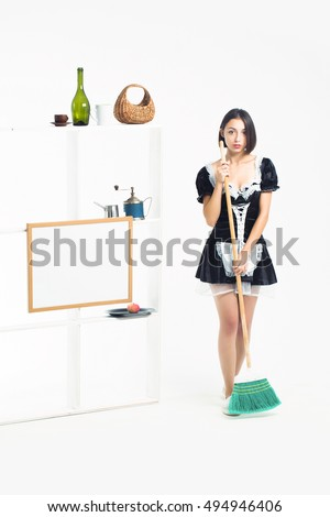 maid servant sexy nude