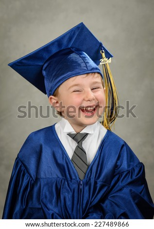 Young graduate - stock photo
