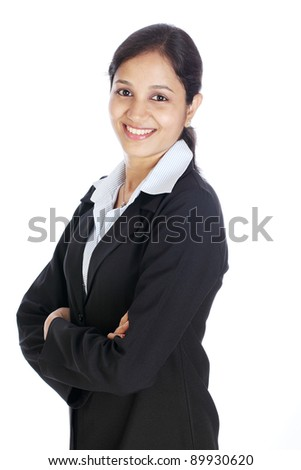 Young Indian Business Woman