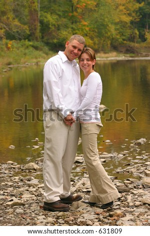 Young Love - stock photo