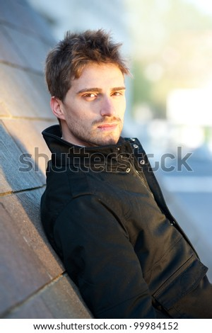 Young man portrait. - stock photo