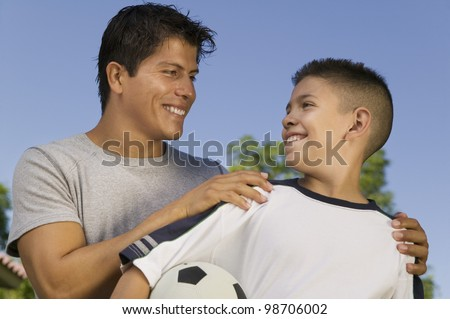 Young Men at the Park - stock photo
