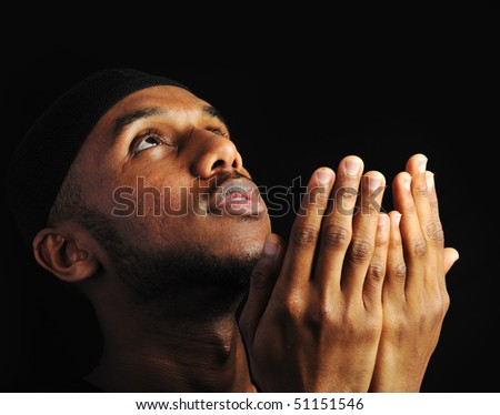 Young muslim man - stock photo