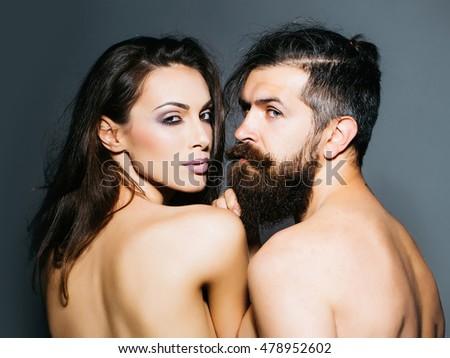 brunette couple