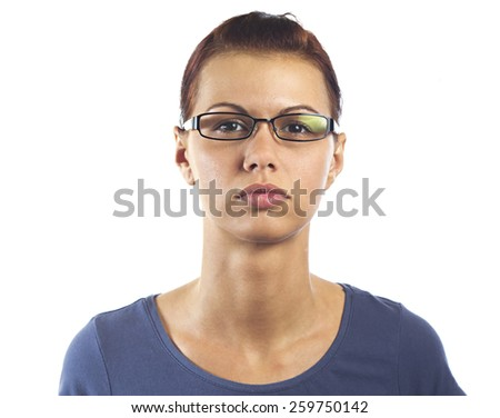 Young pretty women - stock photo