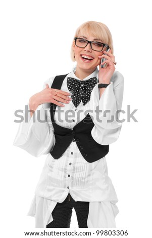 Young professional woman - stock photo