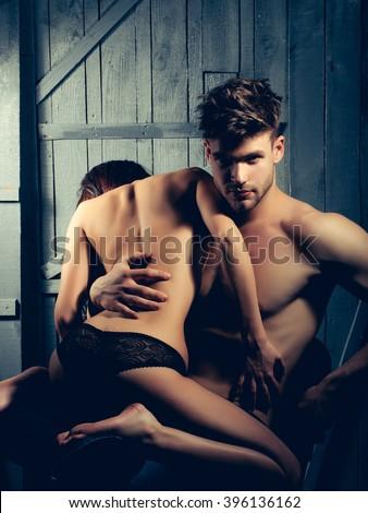 image stock photo woman hands undress sexy macho rich