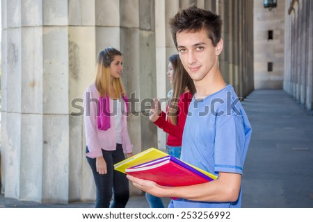 Young student