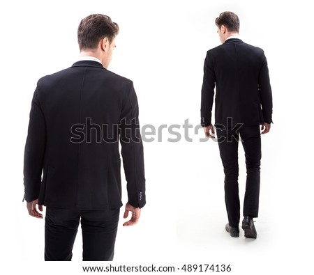 Man Suit Back Stock Images, Royalty-Free Images & Vectors ...