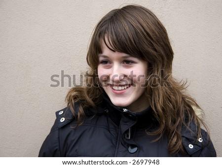 Young teenage girl - stock photo