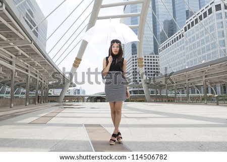 Young Thai woman in Bangkok  thailand