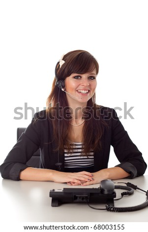 Young woman in Switchboard
