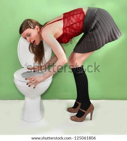 photos of girls vomiting № 9103