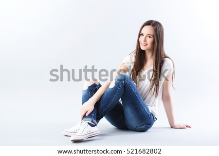 sitting on floor stock images royalty free images vectors shutterstock. Black Bedroom Furniture Sets. Home Design Ideas