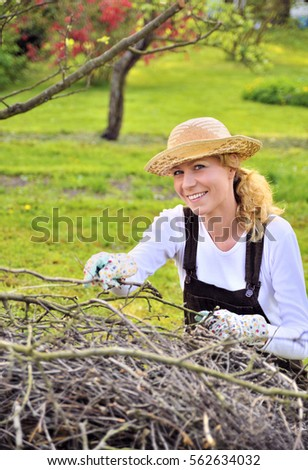 Outstretched cupped hands young woman stock photo 123107581 shutterstock - Spring trimming orchard trees healthy ...