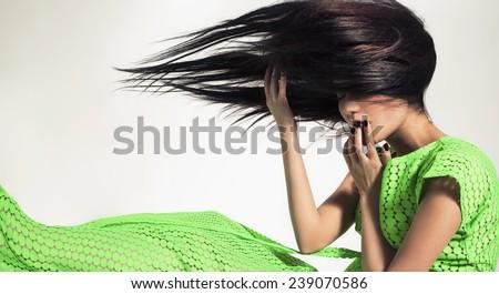 Your breath - stock photo