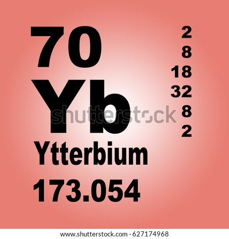 Ytterbium periodic table elements stock illustration 627174968 ytterbium periodic table of elements urtaz Images