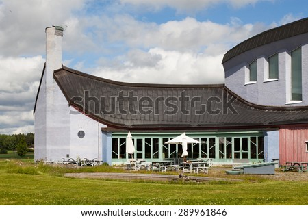 YTTERJARNA, SWEDEN, CULTURE CENTER. June 23, 2015. cultural meeting place.