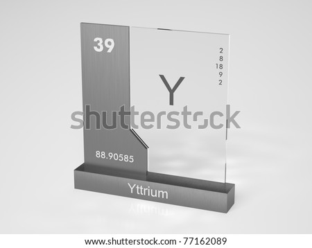 Yttrium symbol y chemical element periodic stock illustration yttrium symbol y chemical element of the periodic table urtaz