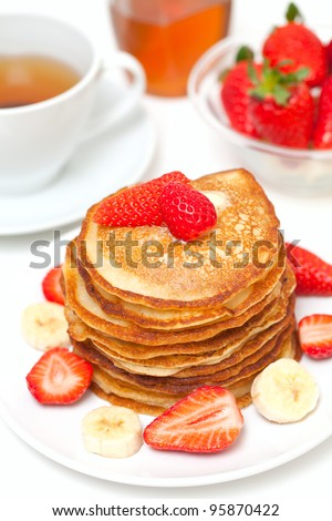 yummy buttermilk pancakes