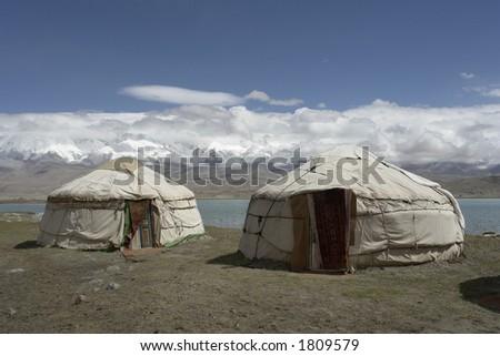 Karakul Lake Yurt Yurts Karakul Lake China